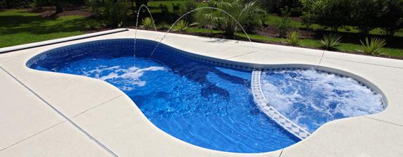 San juan pools canada main website san juan pools san for Fiberglass drop in pools prices